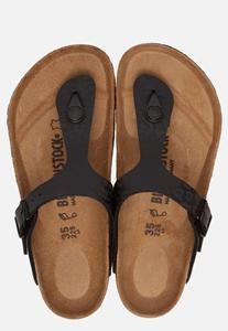 Gizeh Leopard slippers zwart | Ziengs.nl