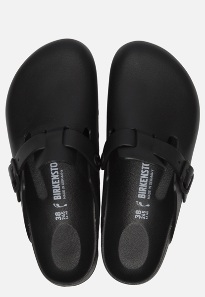 Birkenstock Boston EVA instappers zwart
