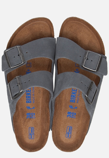 Birkenstock Arizona slippers blauw